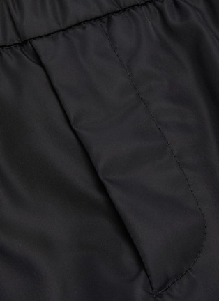 - PRADA - Gabardine nylon pants