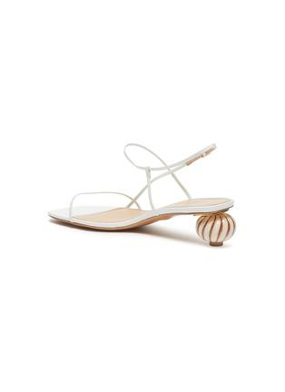 - JACQUEMUS - 'Les Sandales' asymmetric ball heel sandals
