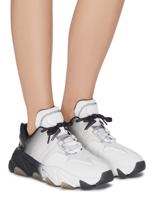 Figure View - Click To Enlarge - ASH - 'Extasy' Dégradé Chunky Sneakers