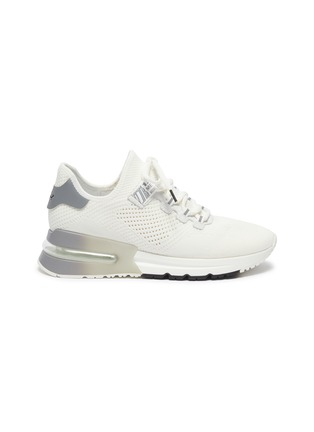Main View - Click To Enlarge - ASH - 'Krush Bis' Perforated Knit Sneakers