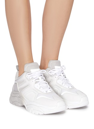 Figure View - Click To Enlarge - ASH - 'Active' Dégradé Chunky Sneakers