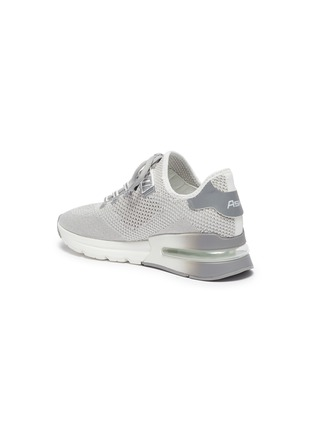 - ASH - 'Krush Lurex' Perforated Glitter Knit Sneakers