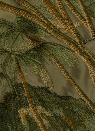 - SACAI - Jungle embroidered MA-1 bomber jacket