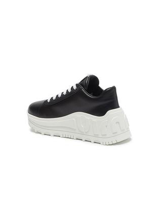 - MIU MIU - Platform leather sneakers