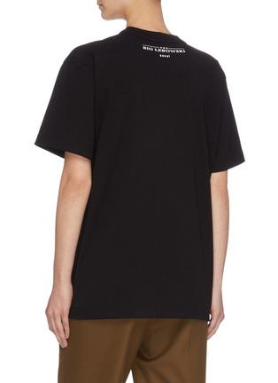 Back View - Click To Enlarge - SACAI - 'The Opinion' slogan print T-shirt