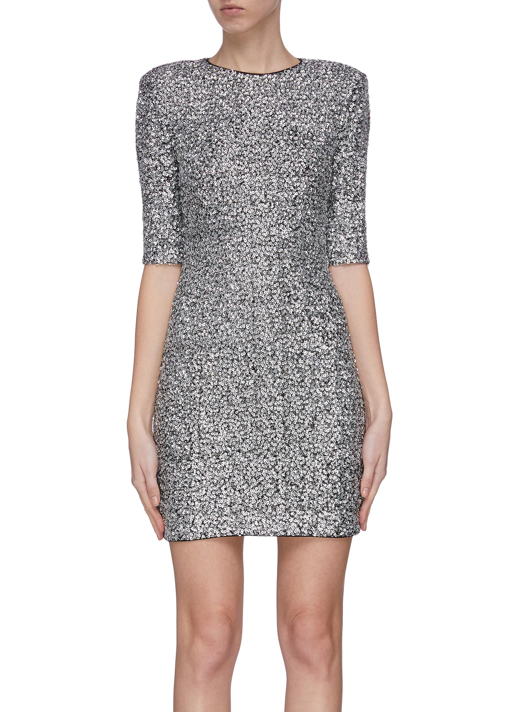 shop Alice + Olivia 'Inka' sequin mini dress online