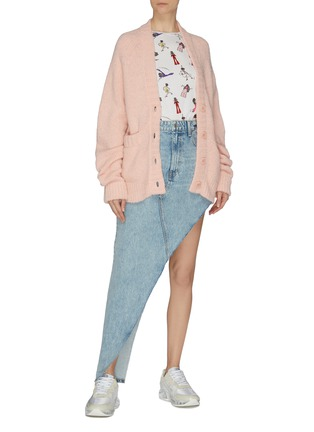 Figure View - Click To Enlarge - ALICE + OLIVIA - 'Rylyn' graphic print cotton T-shirt