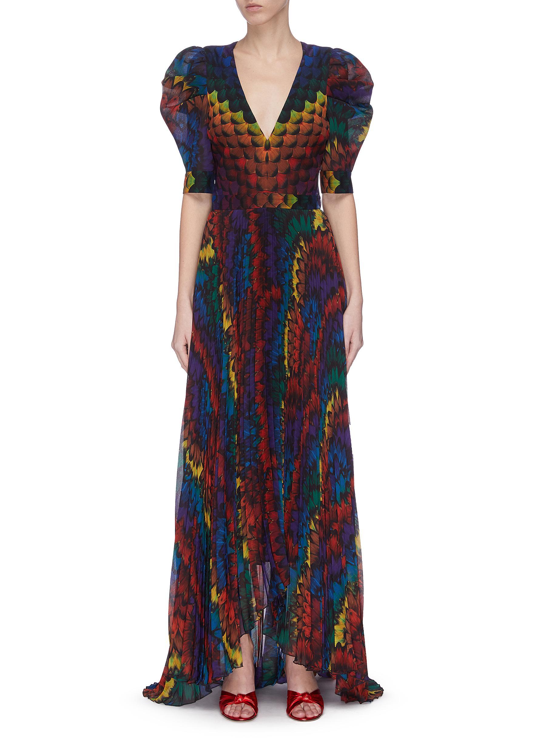 shop Alice + Olivia 'Haven' pleated dress online