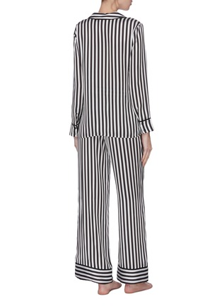 Back View - Click To Enlarge - ALICE + OLIVIA - 'Meera' stripe pajama pants