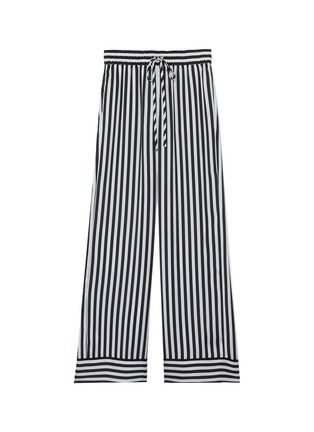 Main View - Click To Enlarge - ALICE + OLIVIA - 'Meera' stripe pajama pants