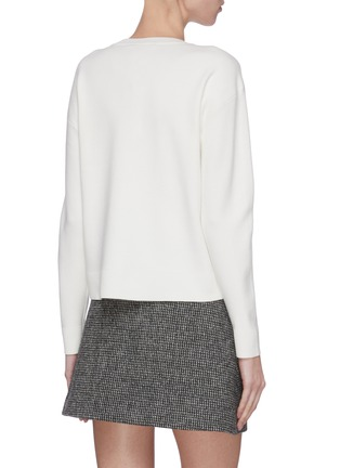 Back View - Click To Enlarge - ALICE + OLIVIA - 'Gleeson' Stace Face sweatshirt