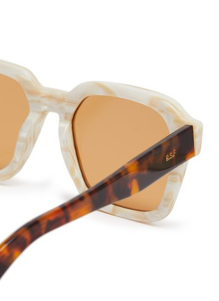 Detail View - Click To Enlarge - SUPER - Acetate frame square sunglasses