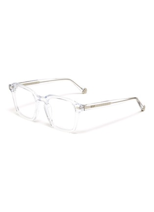 Main View - Click To Enlarge - SUPER - Acetate frame square optical glasses