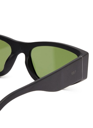 Detail View - Click To Enlarge - SUPER - Acetate oval frame sunglasses