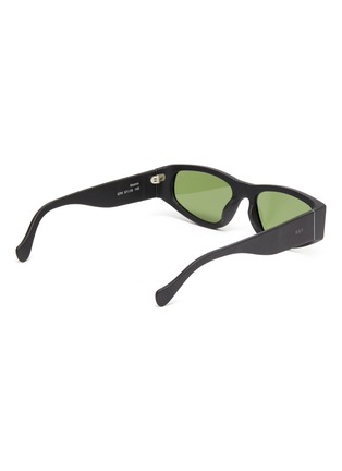 Figure View - Click To Enlarge - SUPER - Acetate oval frame sunglasses