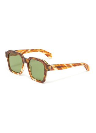 Main View - Click To Enlarge - SUPER - Acetate frame square sunglasses