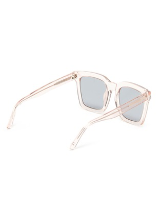 Figure View - Click To Enlarge - SUPER - Clear acetate frame square sunglasses
