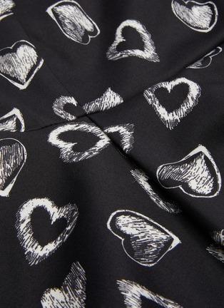 - ALICE + OLIVIA - x FriendsWithYou 'Stasia' heart print dress