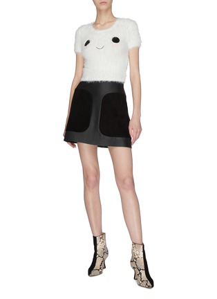 Figure View - Click To Enlarge - ALICE + OLIVIA - 'Ciara' cropped top