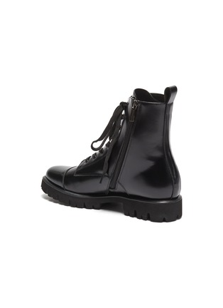 - PEDDER RED - 'Kace' leather combat boots