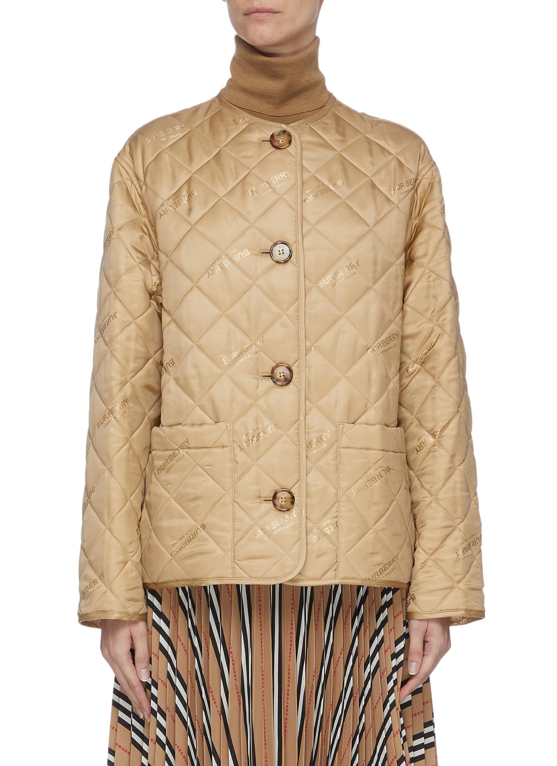 shop Burberry Quilt jacket online