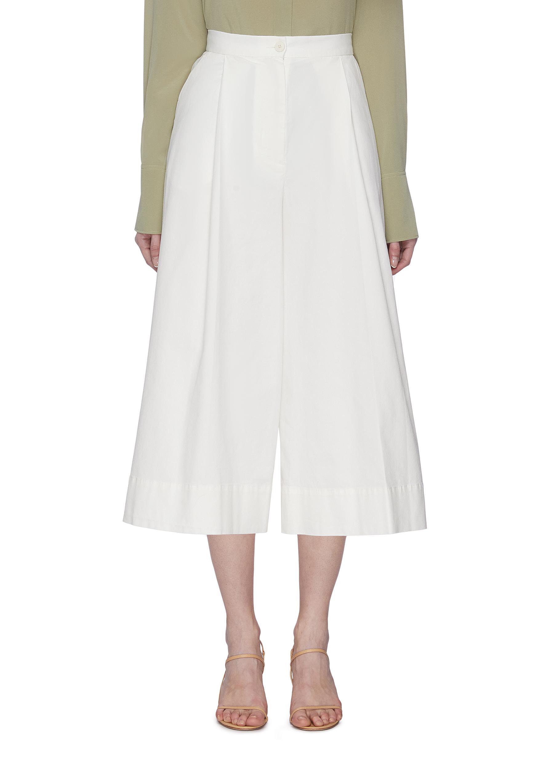Buy Barena Pants & Shorts 'Maristella' Crop Culotte Pants