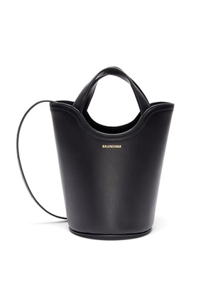 Main View - Click To Enlarge - BALENCIAGA - 'Wave' XS bucket tote