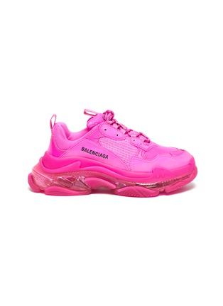 Main View - Click To Enlarge - BALENCIAGA - 'Triple S Clear Sole' sneakers