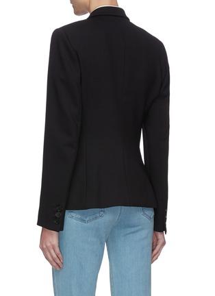 Back View - Click To Enlarge - STELLA MCCARTNEY - Contrast Collar Blazer
