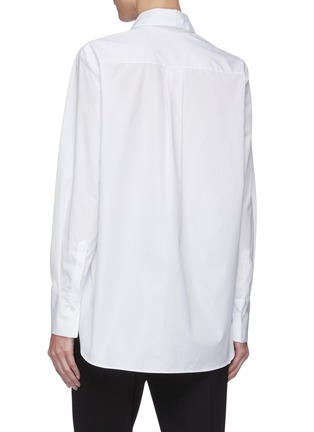 Back View - Click To Enlarge - STELLA MCCARTNEY - 'We Are The Weather' Slogan Print Shirt