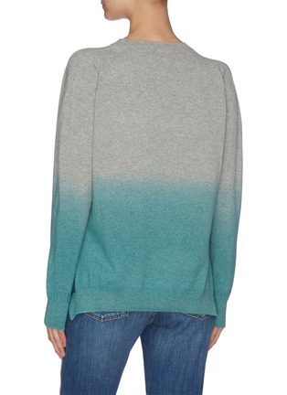 Back View - Click To Enlarge - STELLA MCCARTNEY - Gradient V-neck sweater