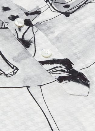 - STELLA MCCARTNEY - Horse print button-up shirt