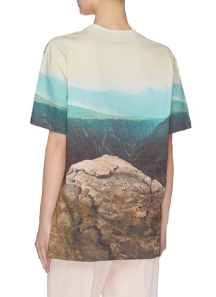 Back View - Click To Enlarge - STELLA MCCARTNEY - Animal print T-shirt