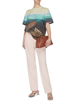 Figure View - Click To Enlarge - STELLA MCCARTNEY - Animal print T-shirt