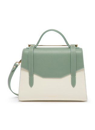 Main View - Click To Enlarge - STRATHBERRY - 'Allegro Midi' leather satchel