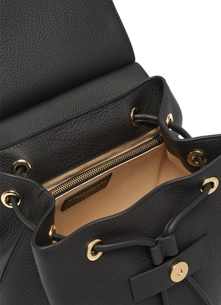 Detail View - Click To Enlarge - STRATHBERRY - Loop detail leather backpack