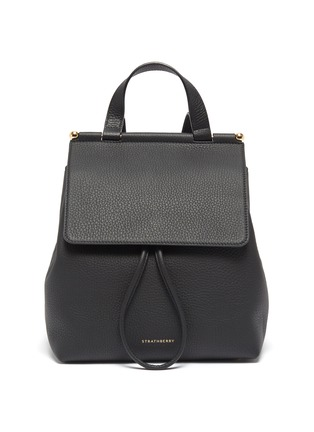 Main View - Click To Enlarge - STRATHBERRY - Loop detail leather backpack