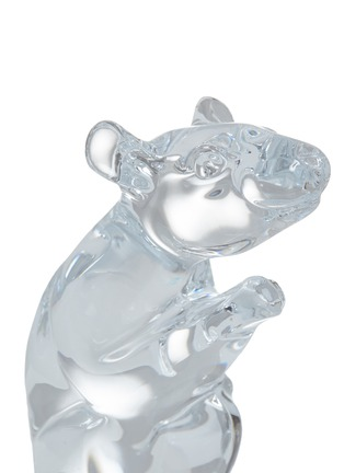 Detail View - Click To Enlarge - BACCARAT - Zodiaque Mouse 2020 Crystal Sculpture – Clear