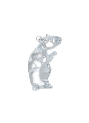 Main View - Click To Enlarge - BACCARAT - Zodiaque Mouse 2020 Crystal Sculpture – Clear