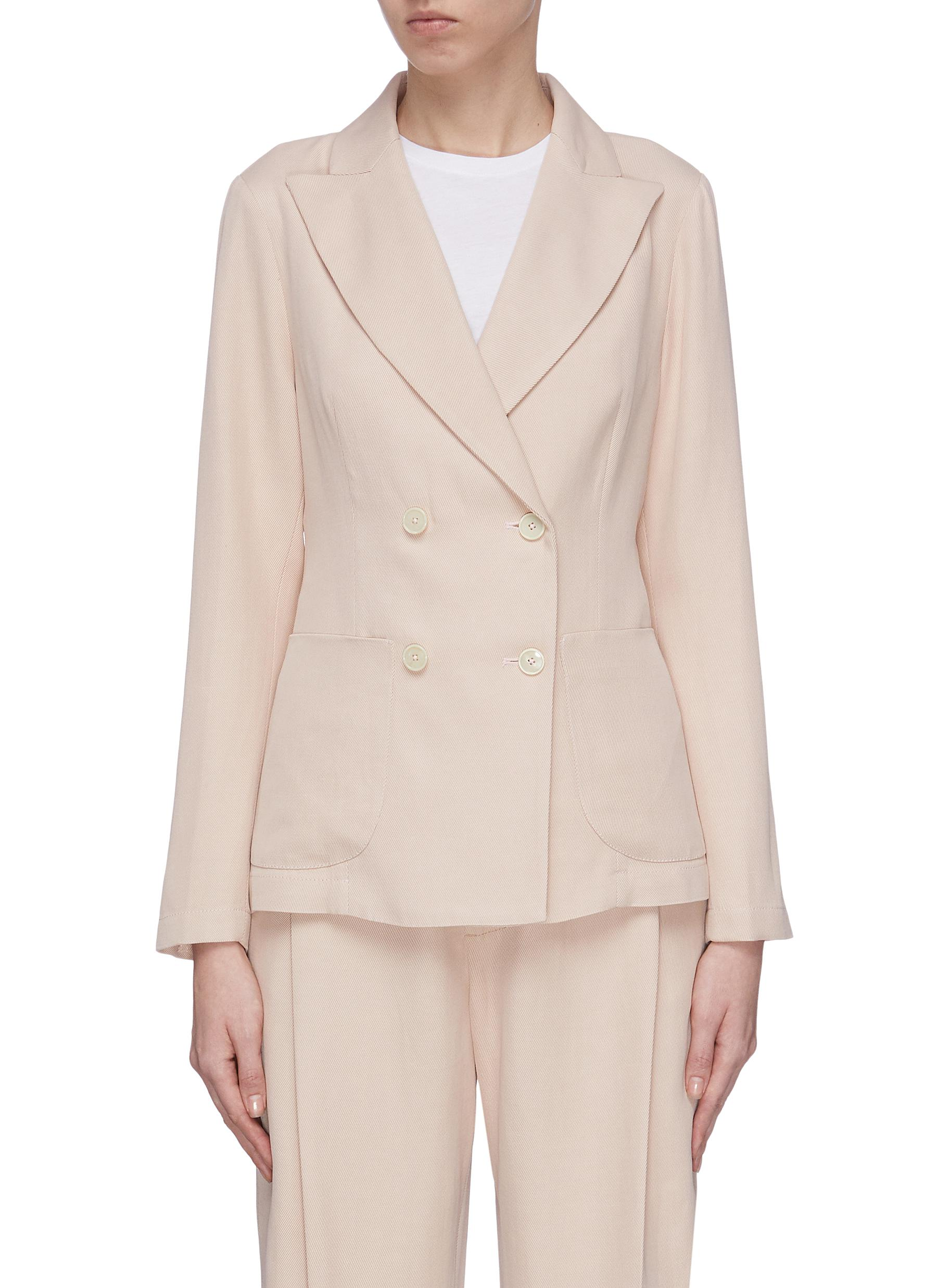 Buy Barena Blazers 'Dalia Renier' double breasted blazer