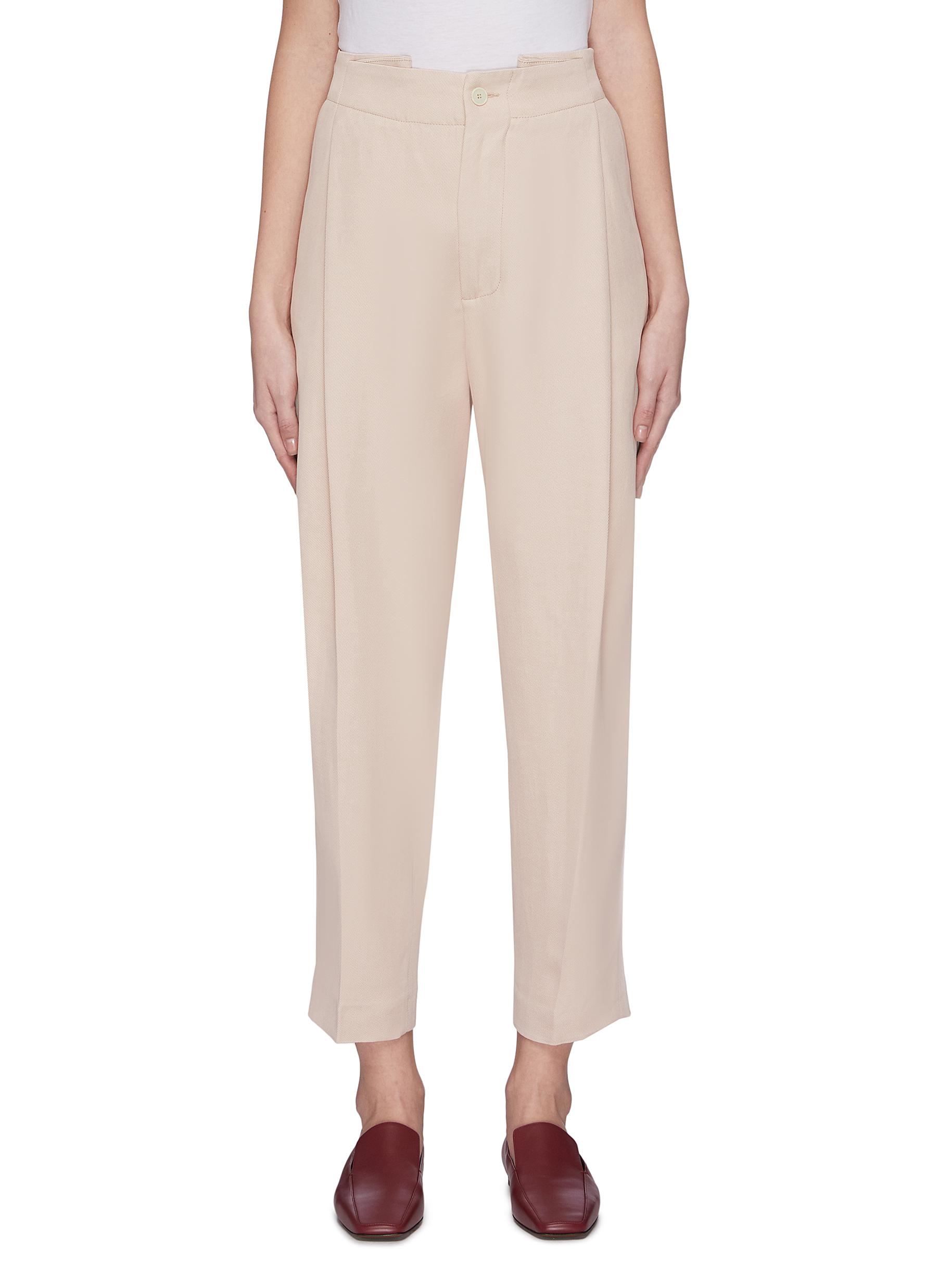 Buy Barena Pants & Shorts 'Vittoria Renier' pleated suiting pants