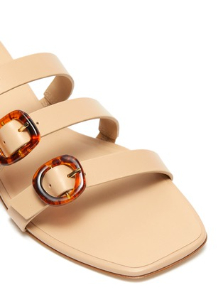 Detail View - Click To Enlarge - CULT GAIA - 'Tallulah' buckle leather sandals