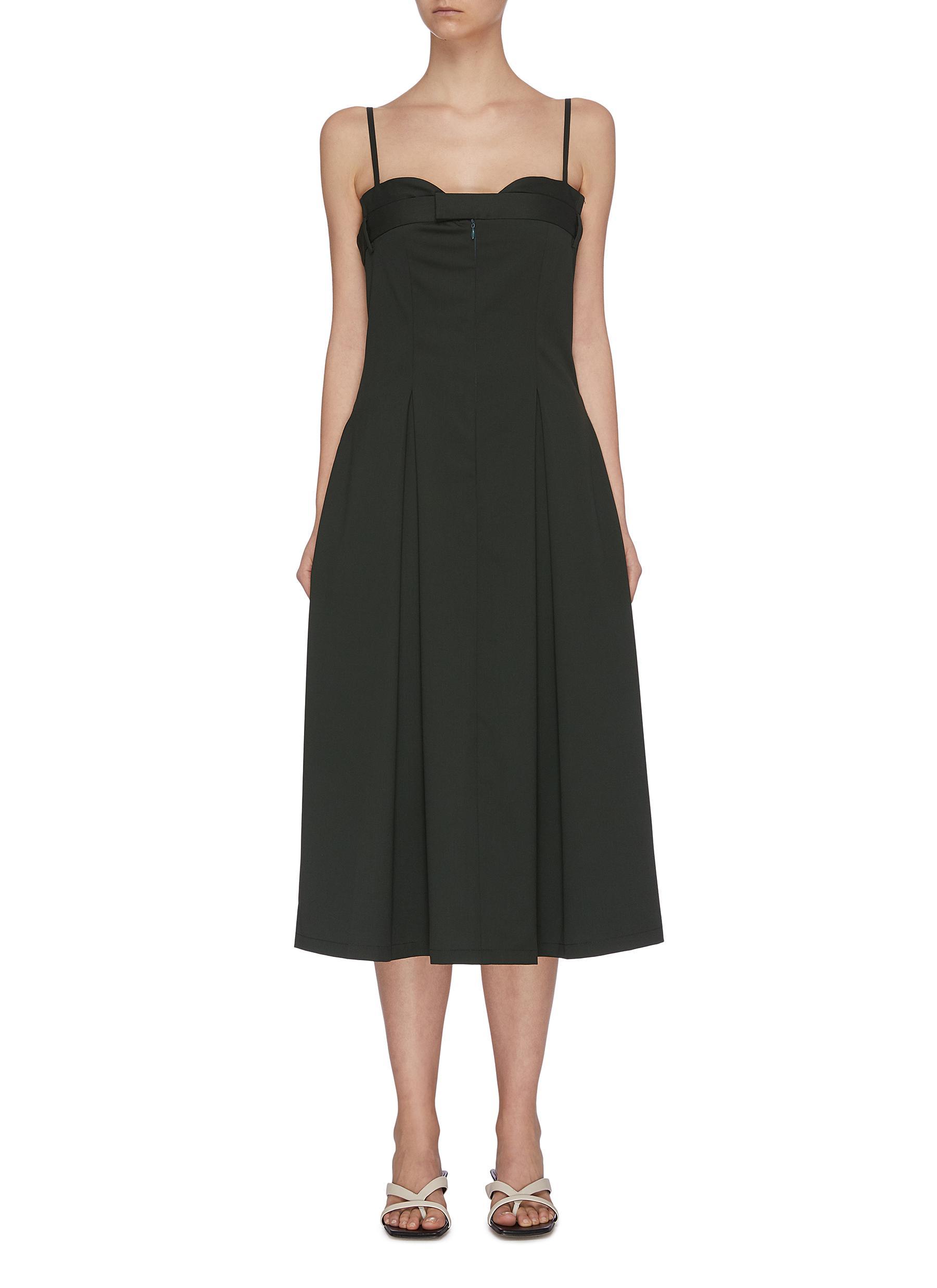 Buy Maya Li Dresses Strap open chest army corset dress