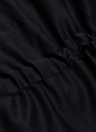 - FFIXXED STUDIOS - 'Wutong' notch lapel belted wool-blend blazer