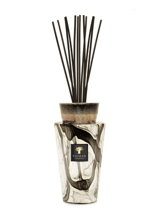 Main View - Click To Enlarge - BAOBAB COLLECTION - Totem Stones Marble Diffuser – Leather / Tuberose / Berries