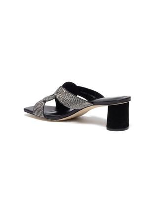 - PEDDER RED - 'Albie' crystal embellished sandals