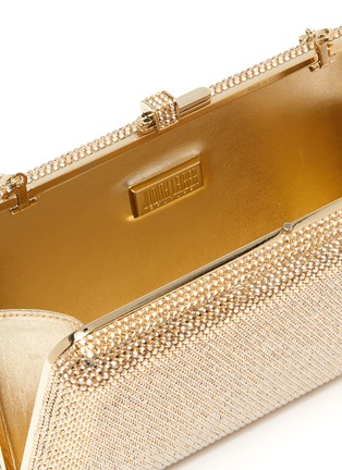 Detail View - Click To Enlarge - JUDITH LEIBER - 'Slim Slide' crystal pavé clutch