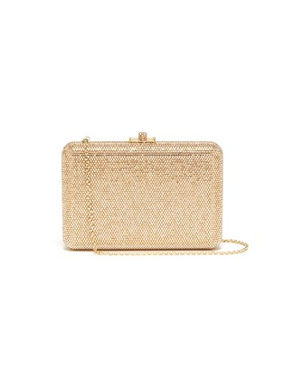 Main View - Click To Enlarge - JUDITH LEIBER - 'Slim Slide' crystal pavé clutch