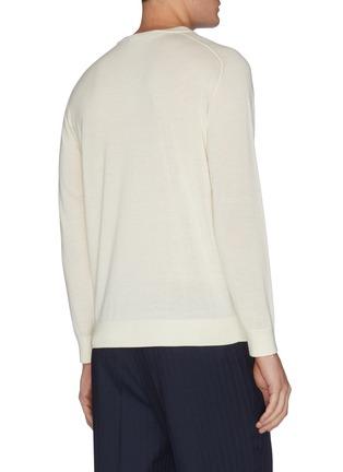 Back View - Click To Enlarge - DREYDEN - Crewneck cashmere sweater