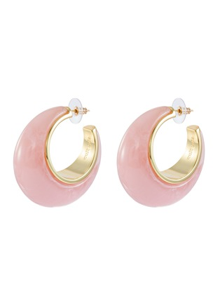 Main View - Click To Enlarge - CULT GAIA - 'Mona' hoop earrings